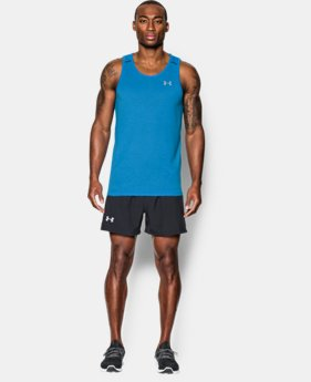 Men's UA Streaker Run Singlet  1 Color $24.99 to $32.99