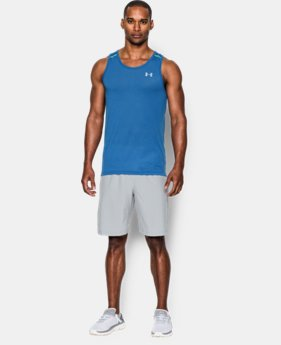 Men's UA Streaker Run Singlet LIMITED TIME: FREE U.S. SHIPPING 3 Colors $12.74 to $20.99