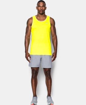 Men's UA Threadborne Streaker Singlet  1 Color $24.99