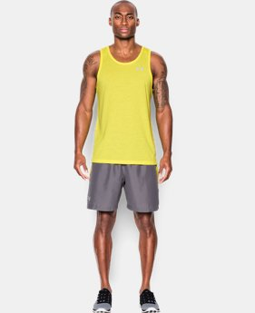Men's UA Streaker Run Singlet  1 Color $27.99