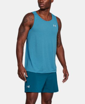 Men's UA Threadborne Streaker Singlet FREE U.S. SHIPPING 2  Colors Available $27.99