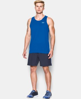 Men's UA Streaker Run Singlet LIMITED TIME: FREE SHIPPING  $27.99