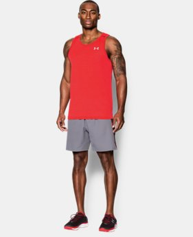 New to Outlet Men's UA Streaker Run Singlet  1 Color $12.74 to $20.99
