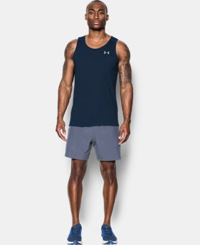Men's UA Threadborne Streaker Singlet  1 Color $27.99