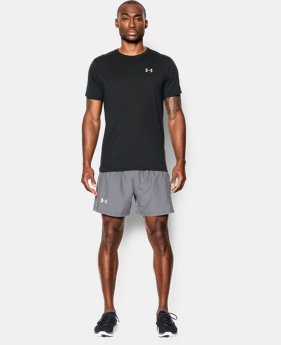 Men's UA Threadborne™ Streaker Shorts Sleeve  13 Colors $34.99
