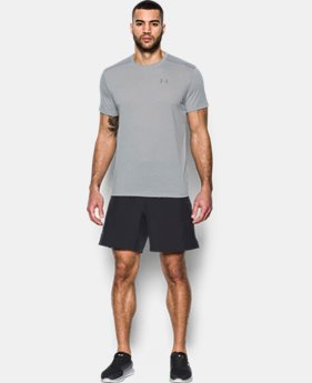 Men's UA Threadborne Streaker Short Sleeve  1 Color $24.99