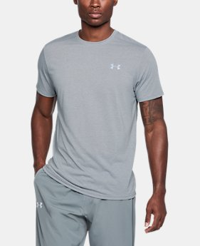 Men's UA Threadborne Streaker Short Sleeve FREE U.S. SHIPPING 2  Colors Available $29.99