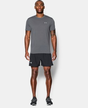 New Arrival  Men's UA Streaker Run Short Sleeve T-Shirt LIMITED TIME: FREE SHIPPING 2 Colors $34.99