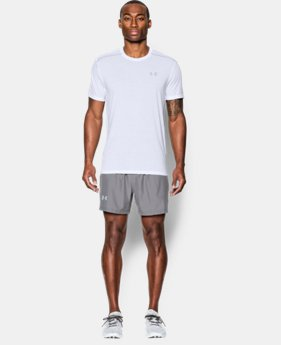 Men's UA Threadborne Streaker Short Sleeve FREE U.S. SHIPPING  $29.99