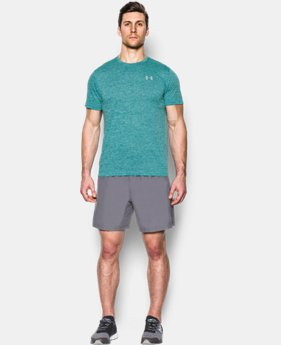 Men's UA Threadborne™ Streaker Shorts Sleeve  5 Colors $34.99