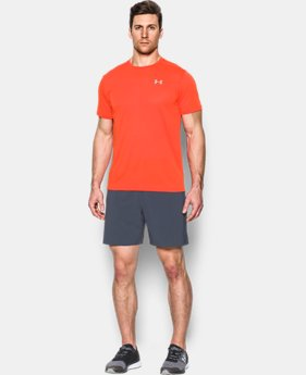 Men's UA Threadborne Streaker Shorts Sleeve LIMITED TIME: FREE SHIPPING 1 Color $34.99