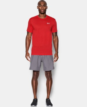 Men's UA Streaker Run Short Sleeve T-Shirt LIMITED TIME: FREE SHIPPING 1 Color $26.99