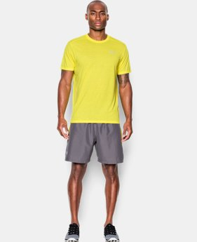 Men's UA Threadborne Streaker Short Sleeve  1 Color $22.49 to $22.99
