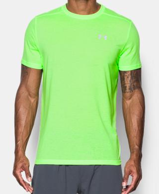 男士UA Threadborne Streaker跑步短袖T恤
