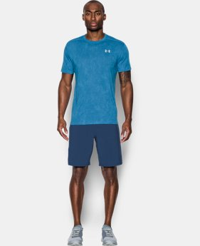Men's UA Threadborne™ Streaker Shorts Sleeve  3 Colors $34.99