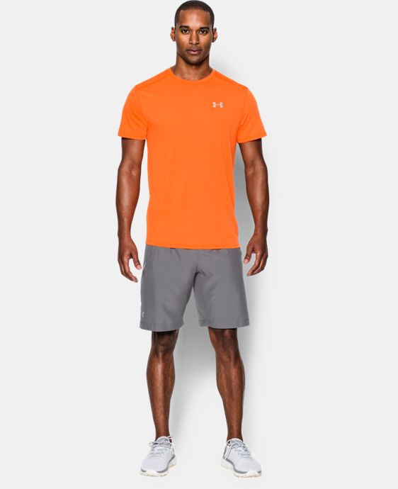 Men's UA Streaker Run Short Sleeve T-Shirt  5 Colors $17.24 to $17.99
