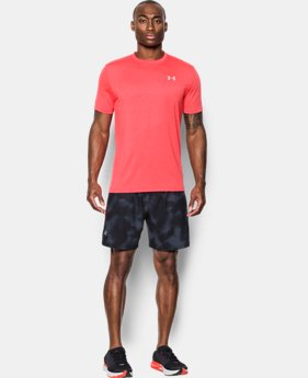 Men's UA Threadborne Streaker Short Sleeve  1 Color $17.99 to $22.99