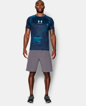 Men's UA Run Printed T-Shirt  1 Color $22.99