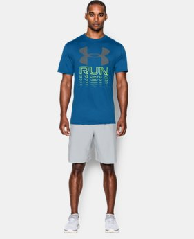 Men's UA Run Rising T-Shirt LIMITED TIME: FREE SHIPPING  $27.99