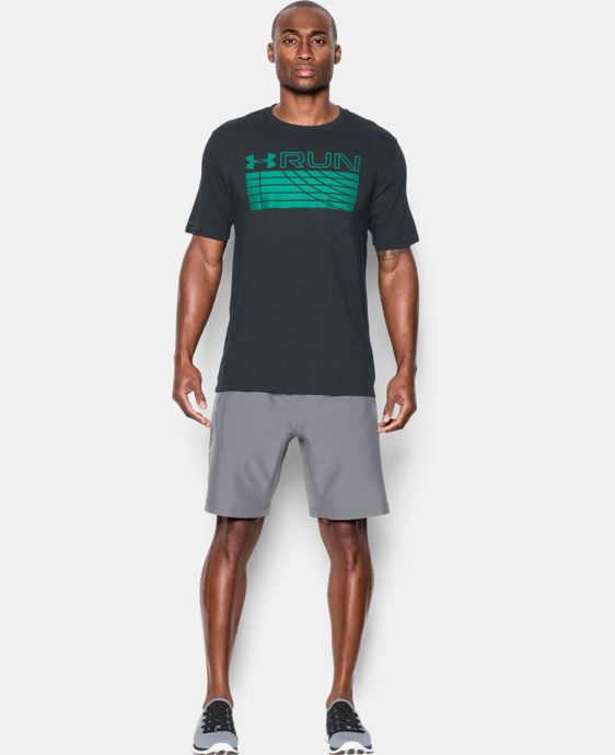 Men's UA Run Track T-Shirt LIMITED TIME: FREE SHIPPING 1 Color $26.99