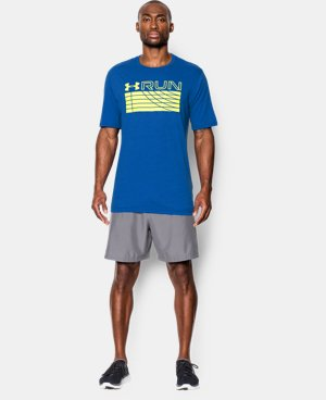 Men's UA Run Track T-Shirt LIMITED TIME: FREE U.S. SHIPPING  $17.24 to $22.99