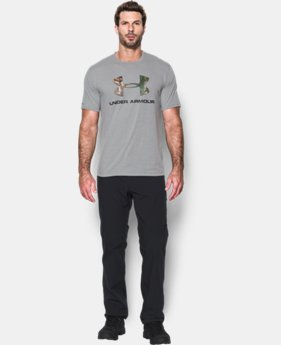Men's UA Camo Fill Logo T-Shirt   $24.99