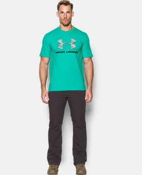 Men's UA Camo Fill Logo T-Shirt  2 Colors $24.99