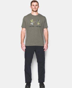 Men's UA Camo Fill Logo T-Shirt  4 Colors $22.99 to $29.99