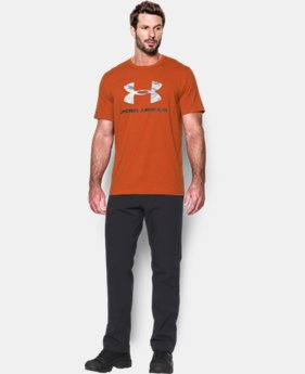 Men's UA Camo Fill Logo T-Shirt LIMITED TIME: FREE U.S. SHIPPING 2 Colors $17.99 to $18.99