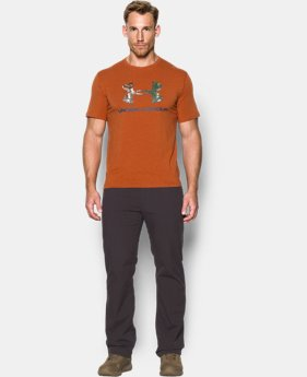 Men's UA Camo Fill Logo T-Shirt  1 Color $29.99