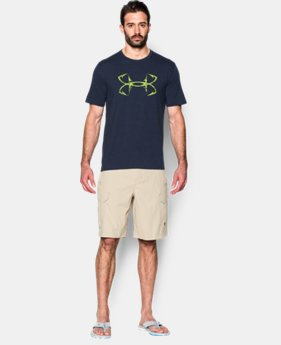 New Arrival  Men's UA Fish Hook T-Shirt LIMITED TIME: FREE SHIPPING 1 Color $29.99