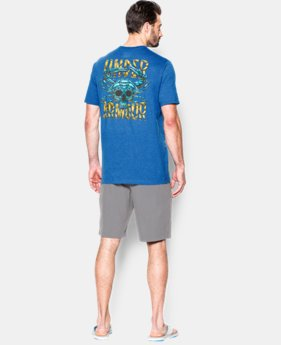 Men's UA Blue Crab T-Shirt  1 Color $17.24