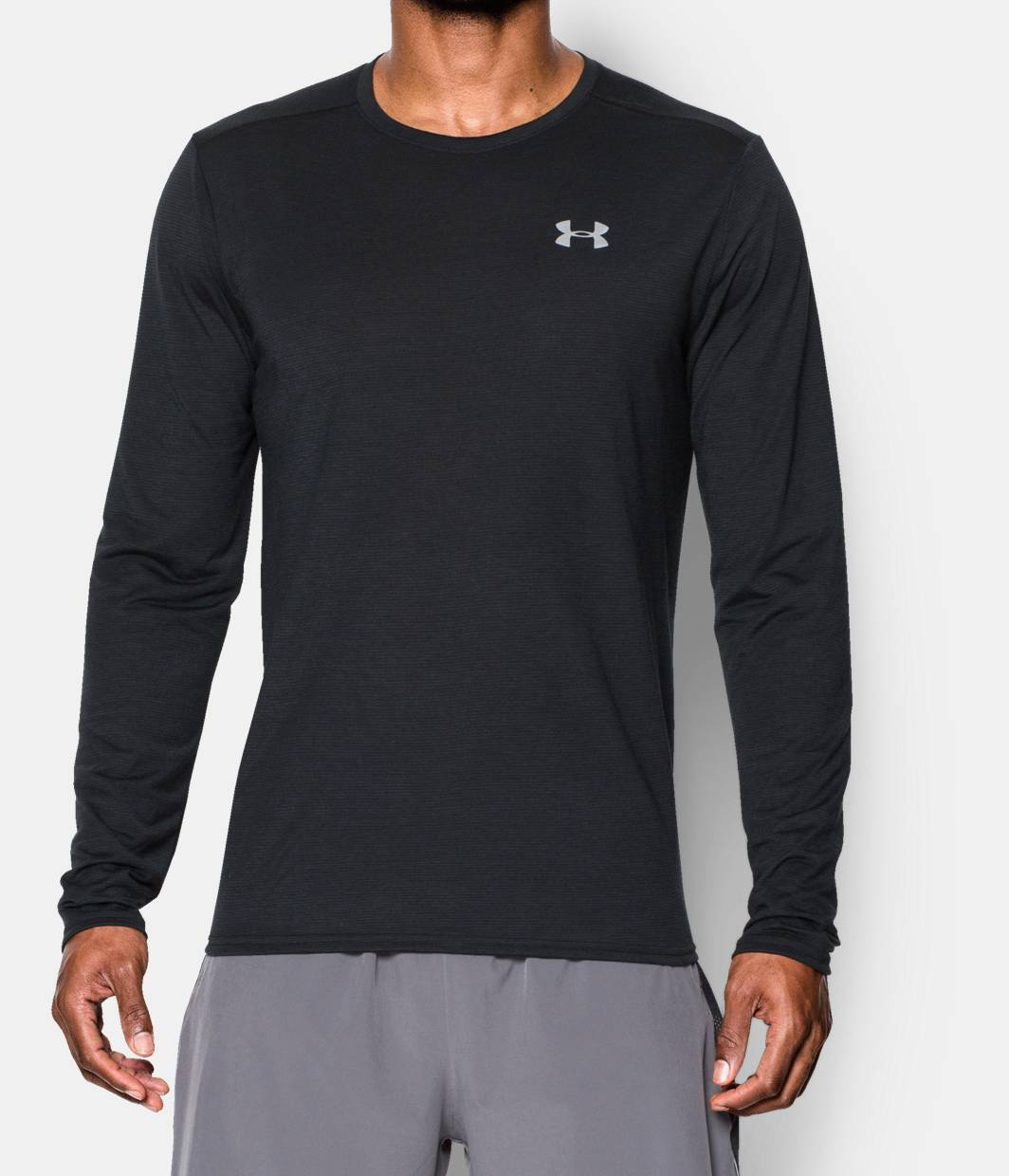 Men 39 s ua streaker run long sleeve t shirt under armour us for What is a long sleeve t shirt