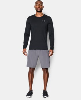 New Arrival  Men's UA Streaker Run Long Sleeve T-Shirt  1 Color $44.99