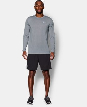 New to Outlet Men's Threadborne™ Streaker Run Long Sleeve T-Shirt   $29.99