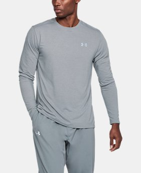 Men's UA Threadborne Streaker Long Sleeve  1  Color Available $39.99