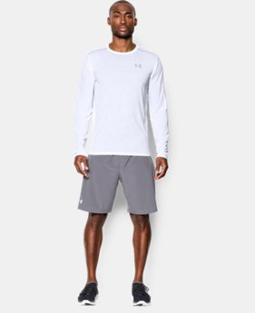 New Arrival  Men's UA Streaker Run Long Sleeve T-Shirt  3 Colors $44.99