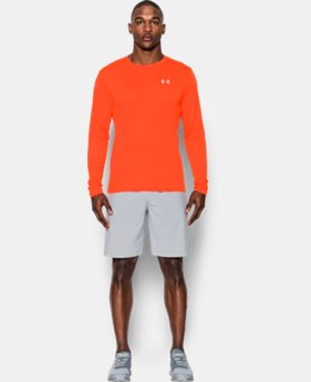 Men's UA Threadborne Streaker Long Sleeve  1 Color $20.99