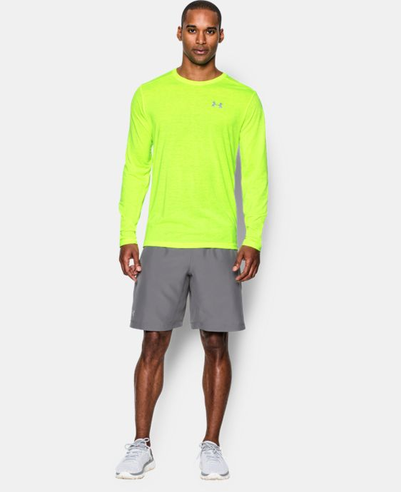Men's UA Streaker Run Long Sleeve T-Shirt  1 Color $25.49