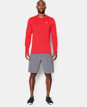 New to Outlet Men's Threadborne™ Streaker Run Long Sleeve T-Shirt  1 Color $29.99
