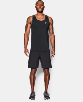 New Arrival Men's UA CoolSwitch Run Singlet LIMITED TIME: FREE SHIPPING 1 Color $39.99