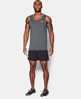 Men's UA CoolSwitch Run Singlet LIMITED TIME: FREE SHIPPING 1 Color $44.99