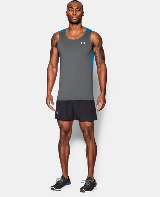 Best Seller Men's UA CoolSwitch Run Singlet LIMITED TIME: FREE U.S. SHIPPING 1 Color $39.99