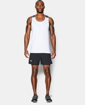 Best Seller Men's UA CoolSwitch Run Singlet LIMITED TIME: FREE SHIPPING 3 Colors $39.99