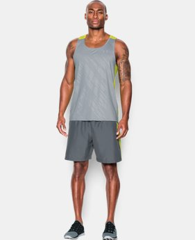 Best Seller Men's UA CoolSwitch Run Singlet LIMITED TIME: FREE SHIPPING 1 Color $39.99