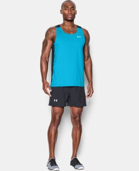 Men's UA CoolSwitch Run Singlet LIMITED TIME: FREE U.S. SHIPPING 4 Colors $17.99 to $29.99