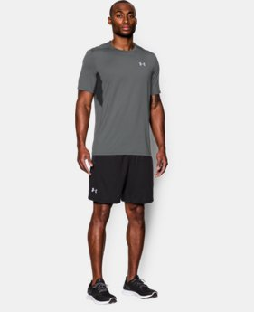 Men's UA CoolSwitch Run Short Sleeve LIMITED TIME: FREE SHIPPING 1 Color $26.99 to $33.99