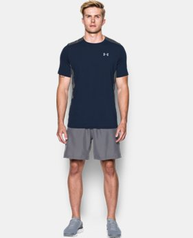 Best Seller Men's UA CoolSwitch Run Short Sleeve LIMITED TIME: FREE SHIPPING 1 Color $39.99