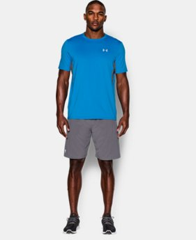 New to Outlet Men's UA CoolSwitch Run Short Sleeve  2 Colors $29.99