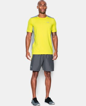 Best Seller Men's UA CoolSwitch Run Short Sleeve LIMITED TIME: FREE SHIPPING  $39.99
